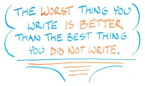 the worst thing you write